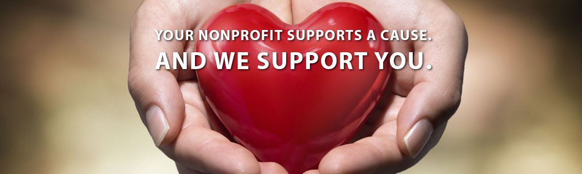 Your nonprofit supports a cause